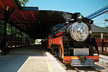 Enjoy two miles of natural Wisconsin countryside aboard the Whiskey River Railway