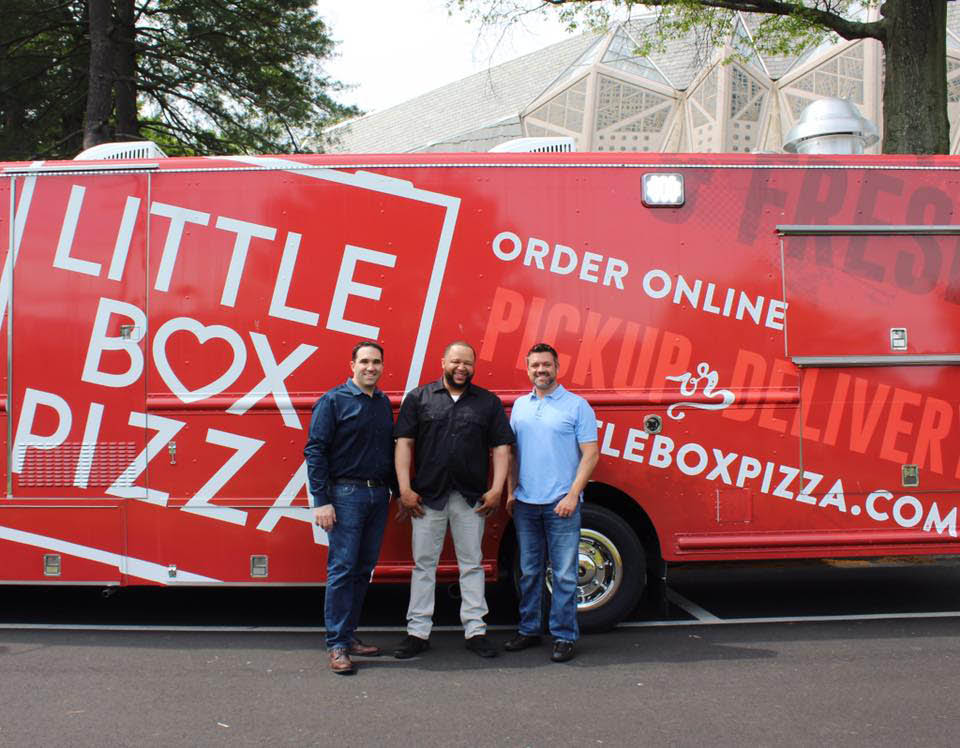 Little Box Pizza food truck stamford ct