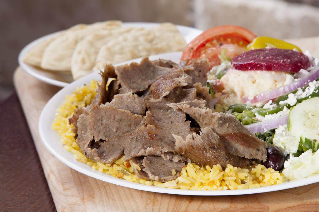 Gyro Sandwiches from Little Greek Fresh Grill