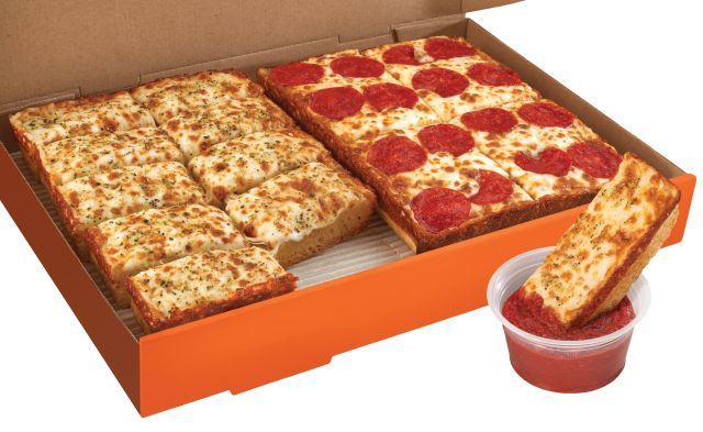 little caesars pizza $5 hot and ready  toledo ohio maumee  quick meal options  dinner box