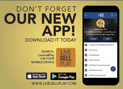 Live Sell Play app available in the App Store and Google Play