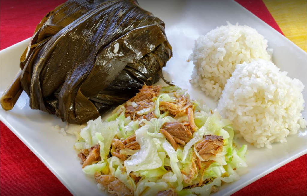 lunch plate; catering in Hawaii