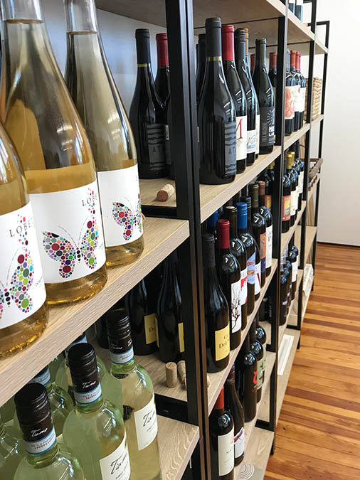 4th And Vine Wine On Shelf