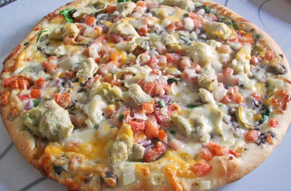 louisville pizza Papa Murphy's deLite low calorie pizza thin crust and healthy toppings