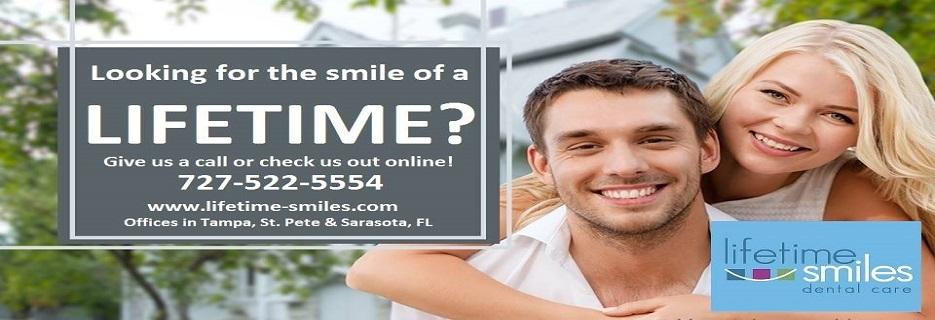 Lifetime Smiles Dental Care of St. Pete banner st. petersburg, fl