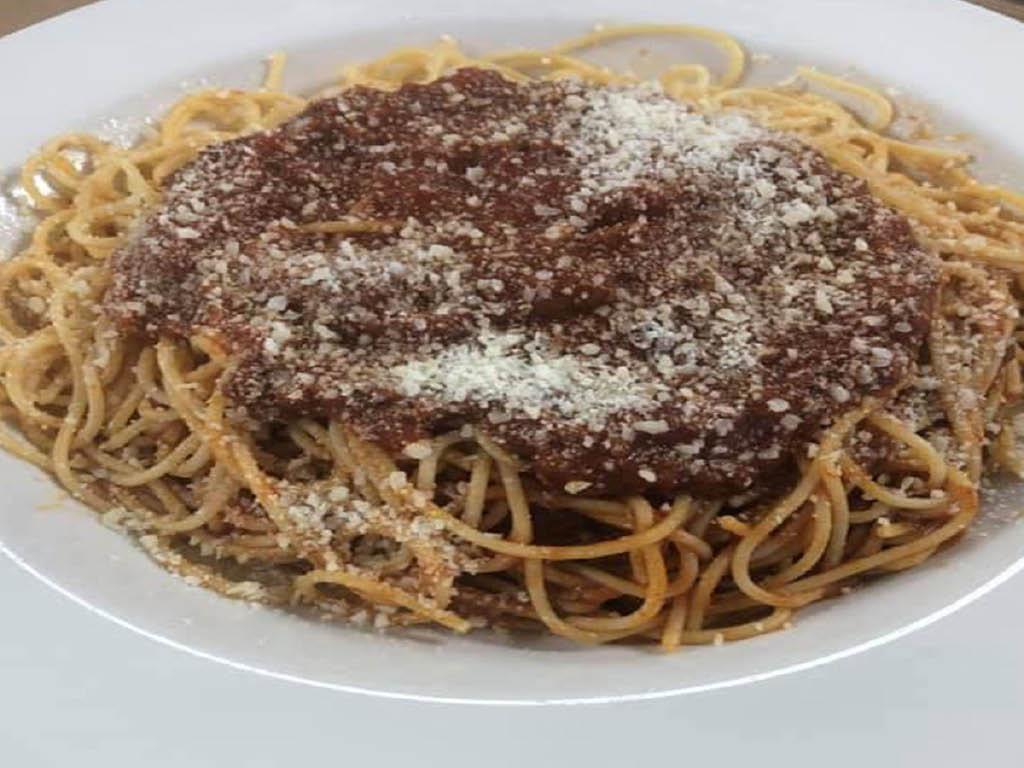 LuLu Mack's spaghetti