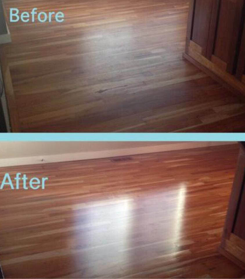 Hardwood floors, cleaning services