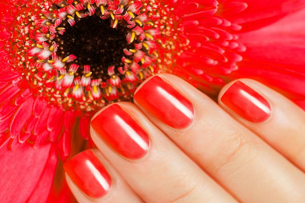 Lush Nail Bar manicure