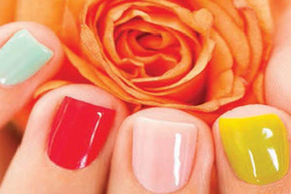 Lush Nail Bar solar nails
