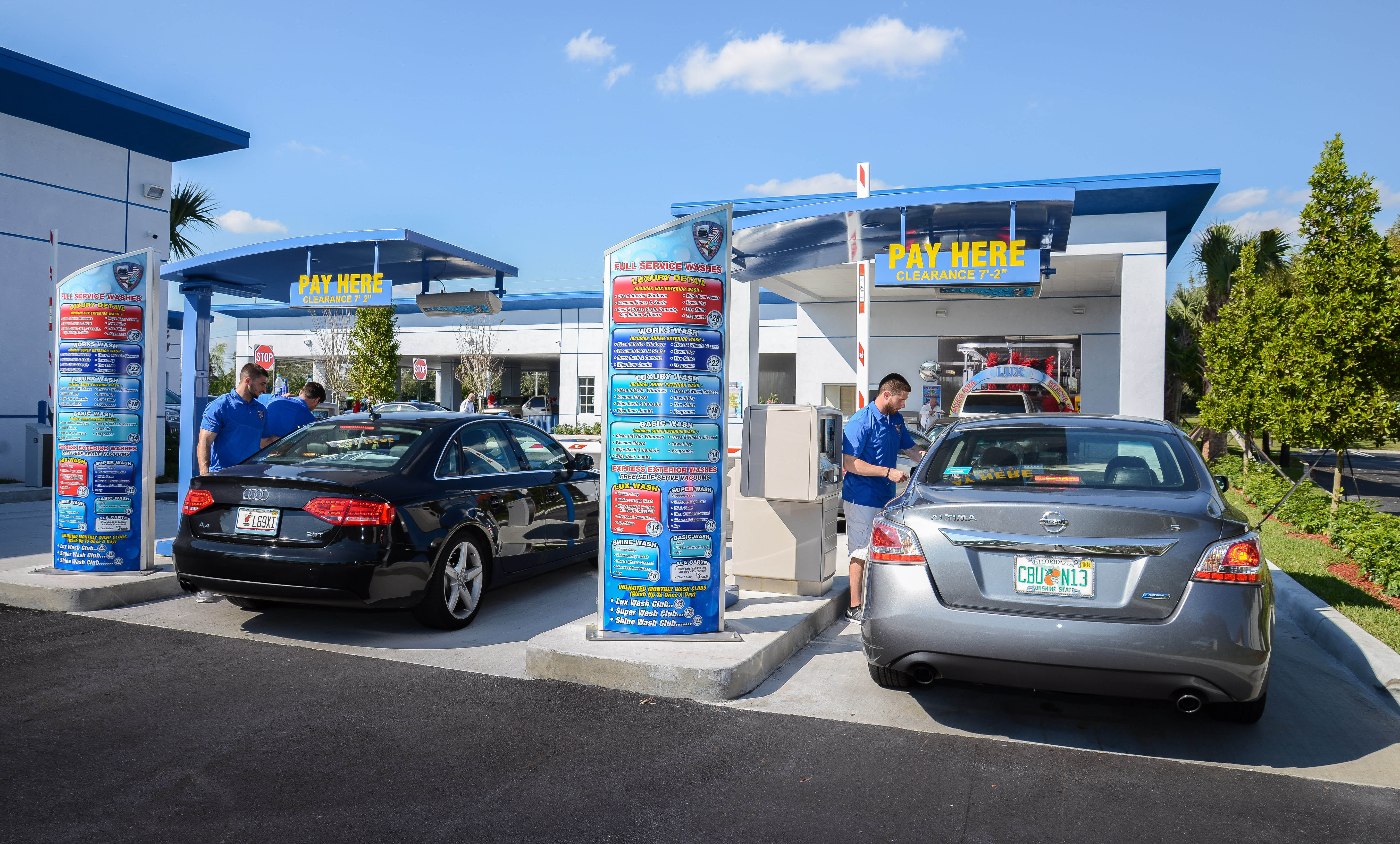 State-of-the-Art Car Wash and Detailing Technology