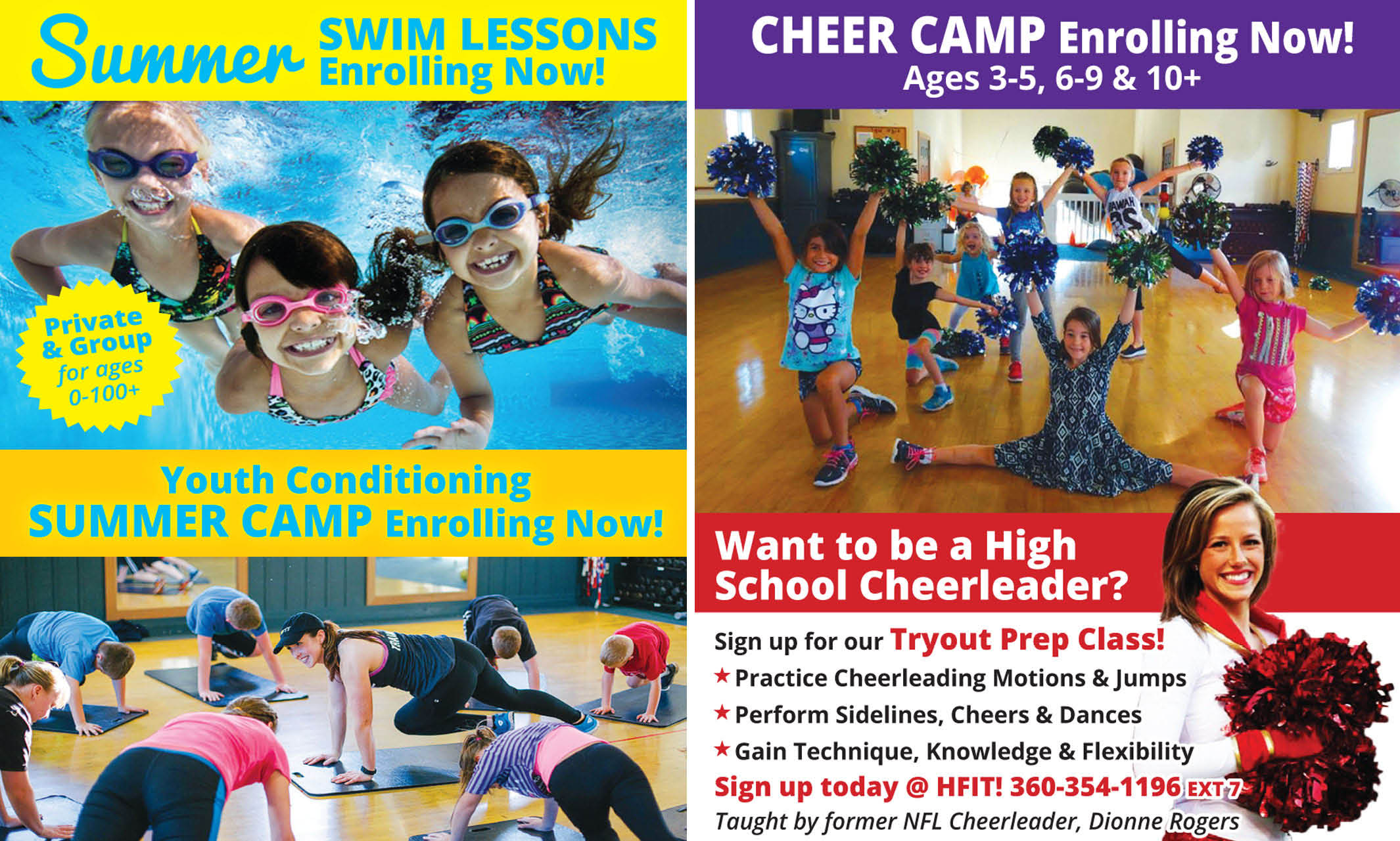 Youth Summer Camps and Classes in Lynden, WA