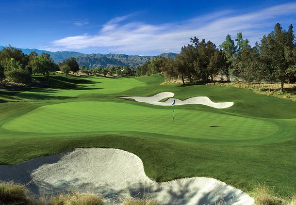 Golf club resort in Palm Desert CA