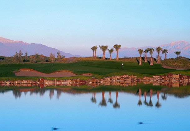 Golf club with lake view at Shadow Ridge Golf Club