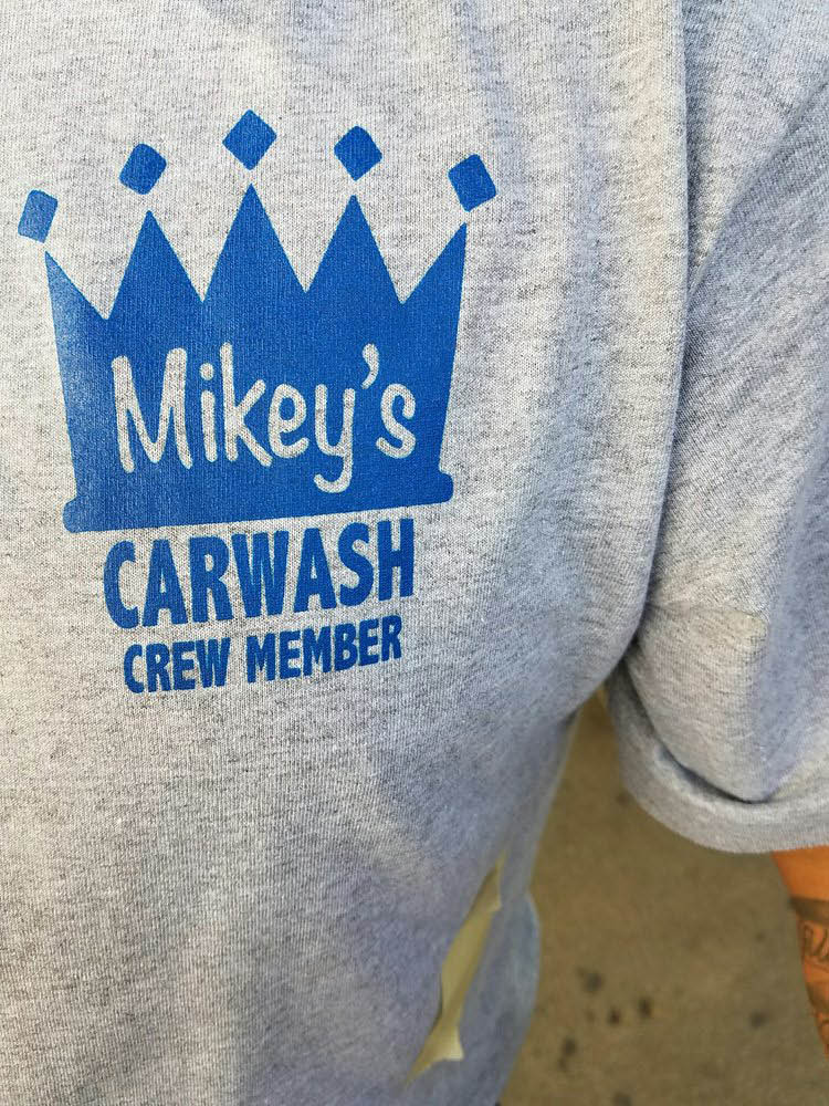 Mikey's professional car wash in West Hollywood
