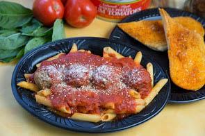 machatolli served at Garibaldi's restaurant; pasta; authentic Italian food; catering service Chicago