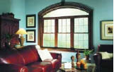 large picturesque home window in Wisconsin