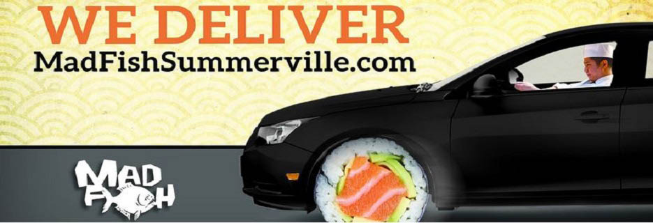 Mad Fish in Summerville, SC Banner ad