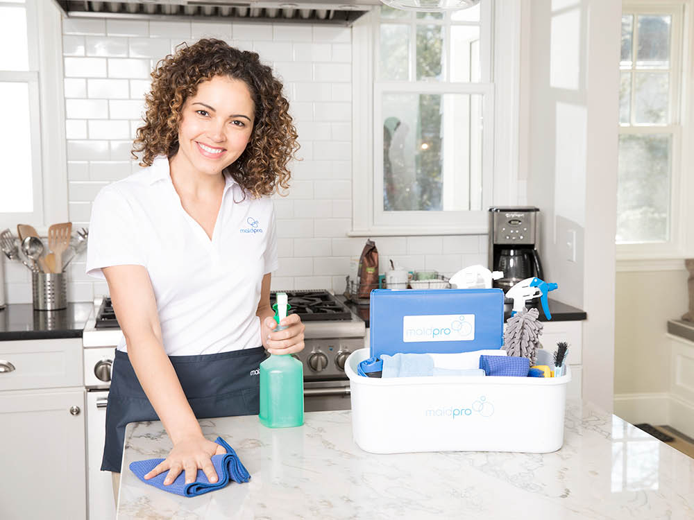 Kitchen cleaning from MaidPro in Morris Plains NJ