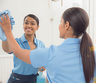 Mirror cleaning from MaidPro in Morris Plains NJ