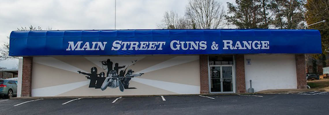 Mainstreet Guns & Range building