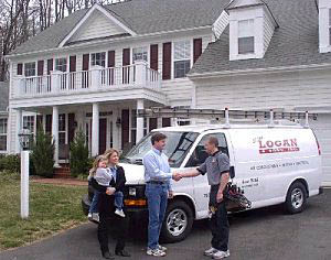 hvac, electrician, water heater repair, heating, air conditioning, air quality, free estimates, emergency service; woodbridge, VA and surrounding area