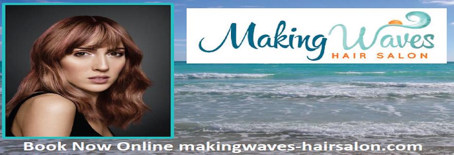 Making Waves Hair Salon banner Virginia Beach, VA
