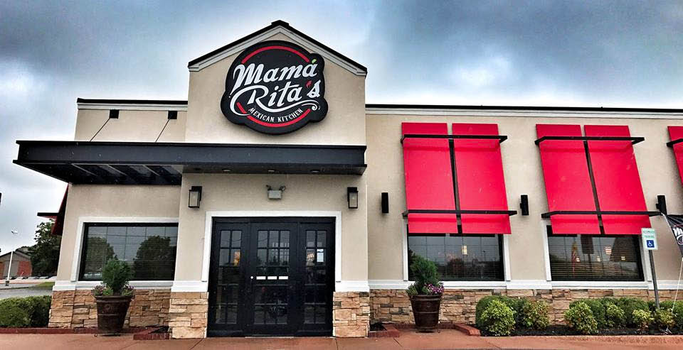 Exterior of Mama Rita's Mexican Kitchen In Oklahoma City, OK