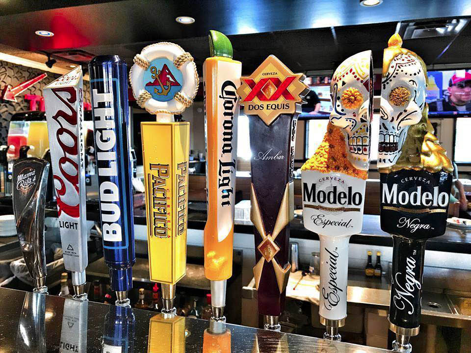 Plenty of Domestic & Imported Beers On Tap