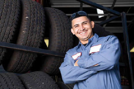 Seal Beach Chevron Gas and Auto mechanic; CA discount tires