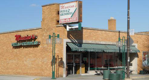 Exterior picuture of mancino's of Lansing,IL