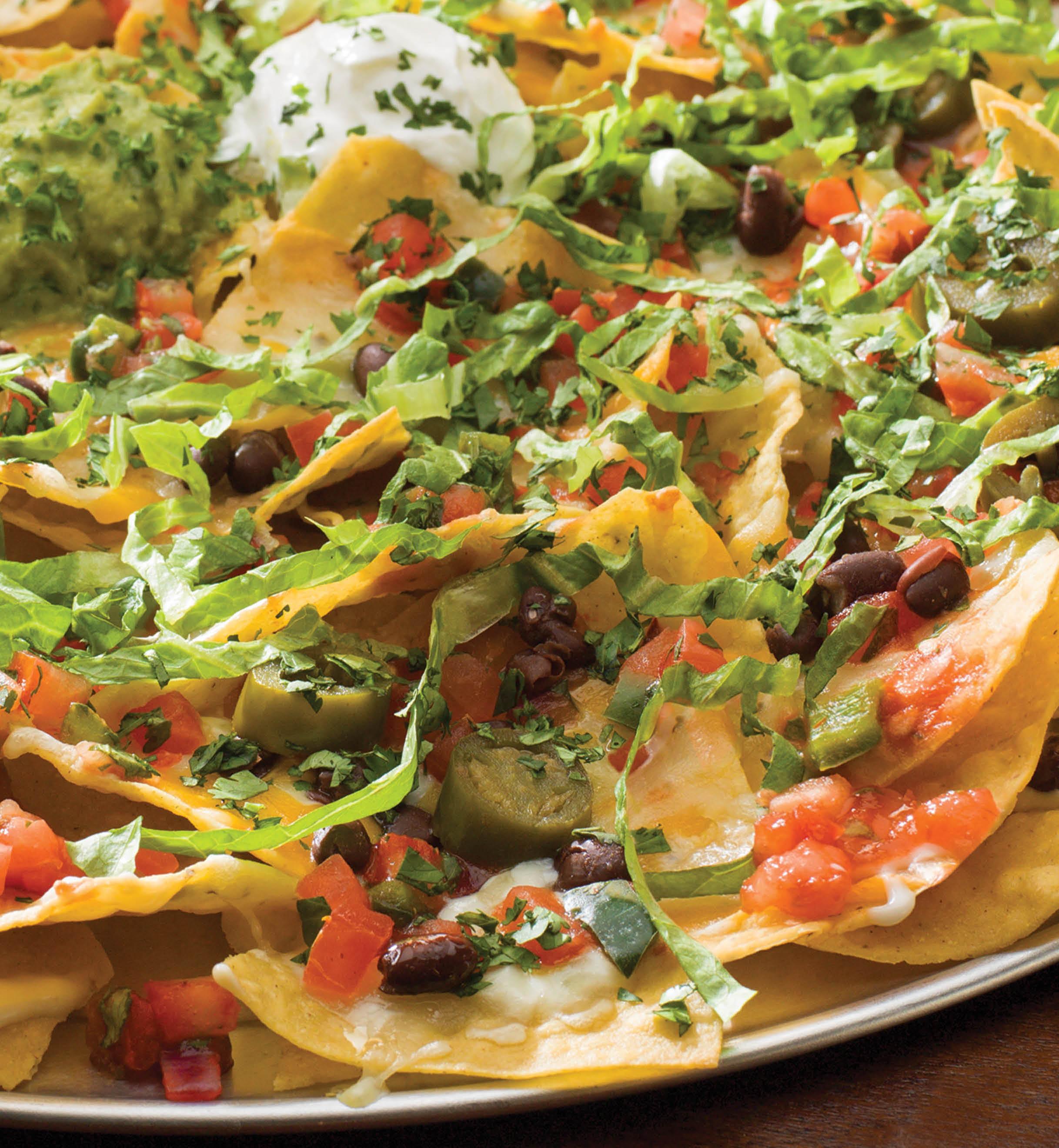 nachos and tex mex