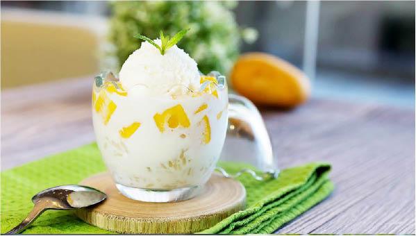 ice cream, soup, pancakes, desserts, teas, jelly, mango, black rice, durian; falls church, va