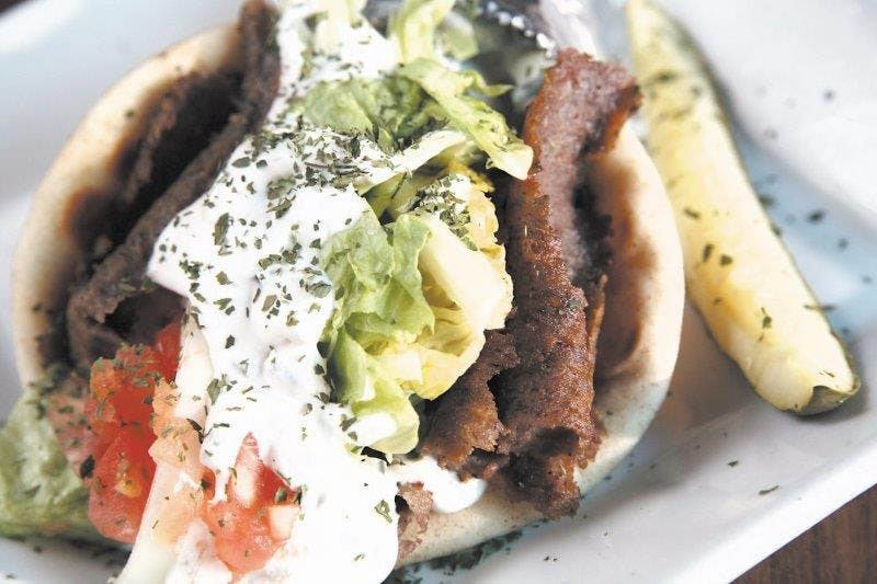 Get pitas stuffed with gyro meat near Charleston, SC