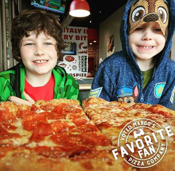 The perfect place for kids and families - Marco's Pizza close to Urbandale, IA