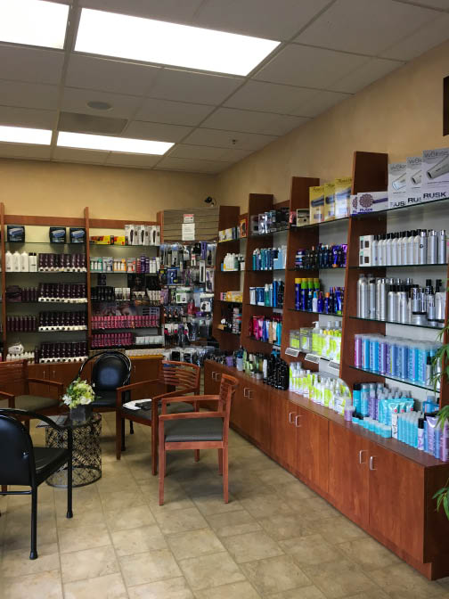 We carry a large variety of hair, skin, and nail products near Black Point-Green Point, CA