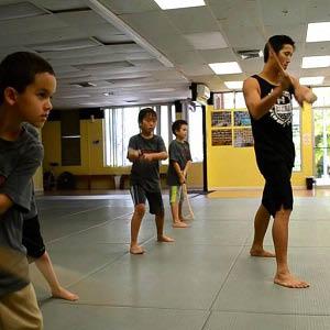 Adolescent martial arts training in Hawaii