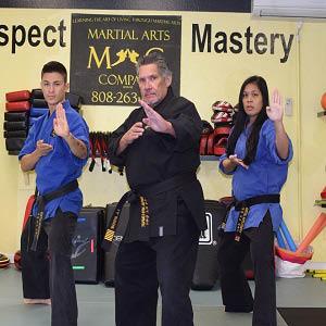 Trainers at Martial Arts Company in Kailua, HI