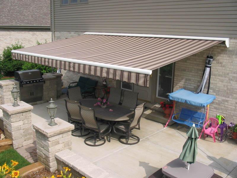 Alternative to patio umbrella