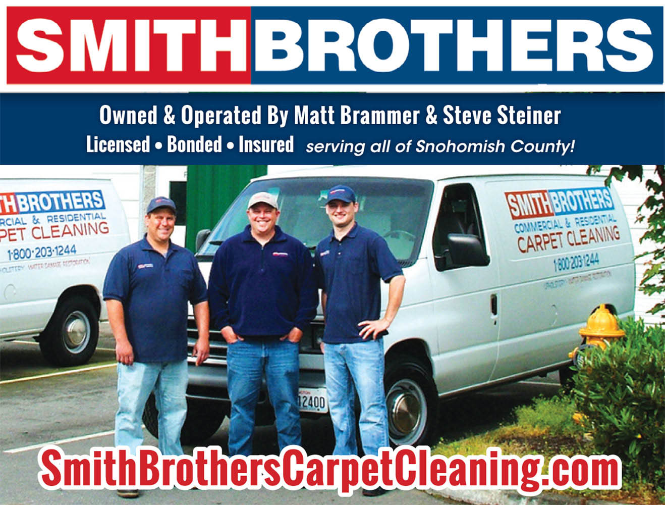 Smith Brother's Carpet Cleaning in Marysville