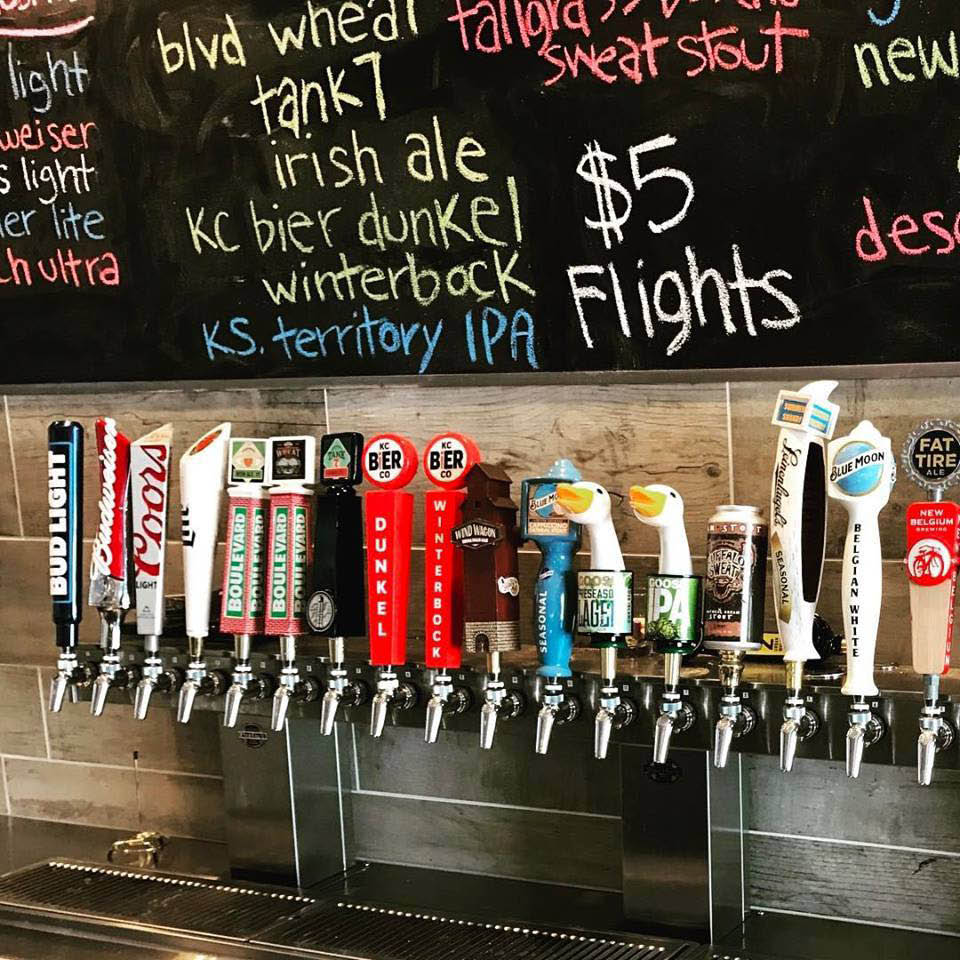 Mason Jar Brews & Burgers has 25 taps flowing everyday with your favorite craft, imported and domestic beers.