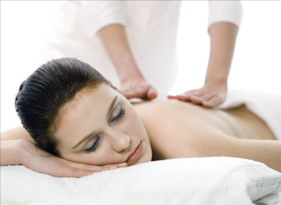 Massage therapy, chiropractic adjustments