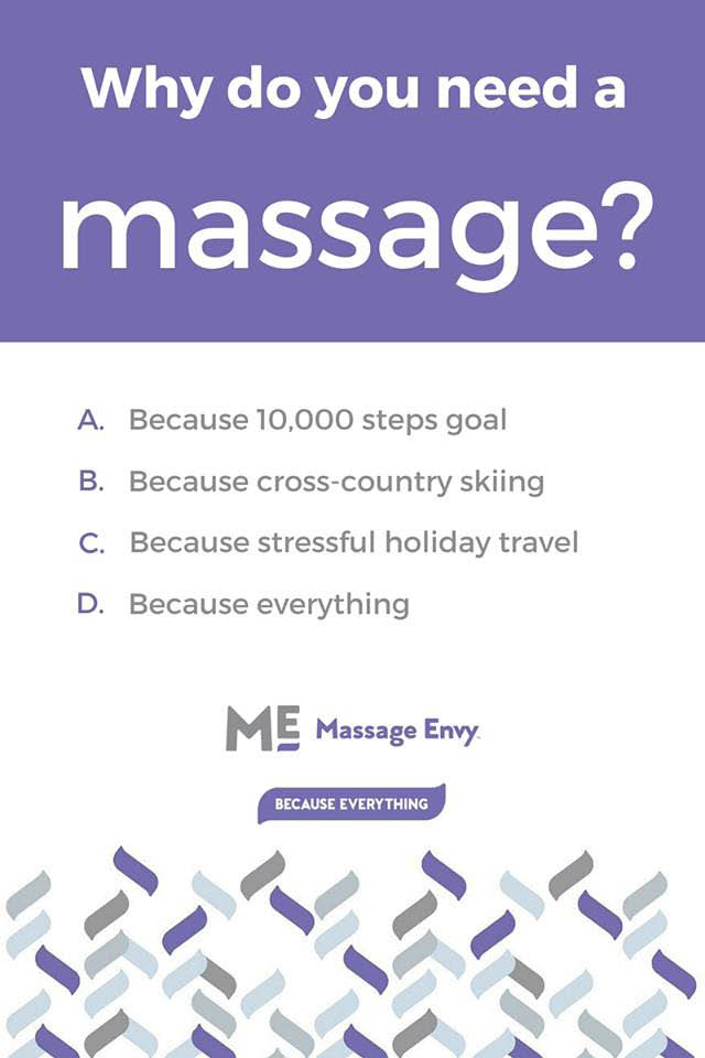 Experience a better overall mind & body wellness from Massage Envy in Sandy Springs