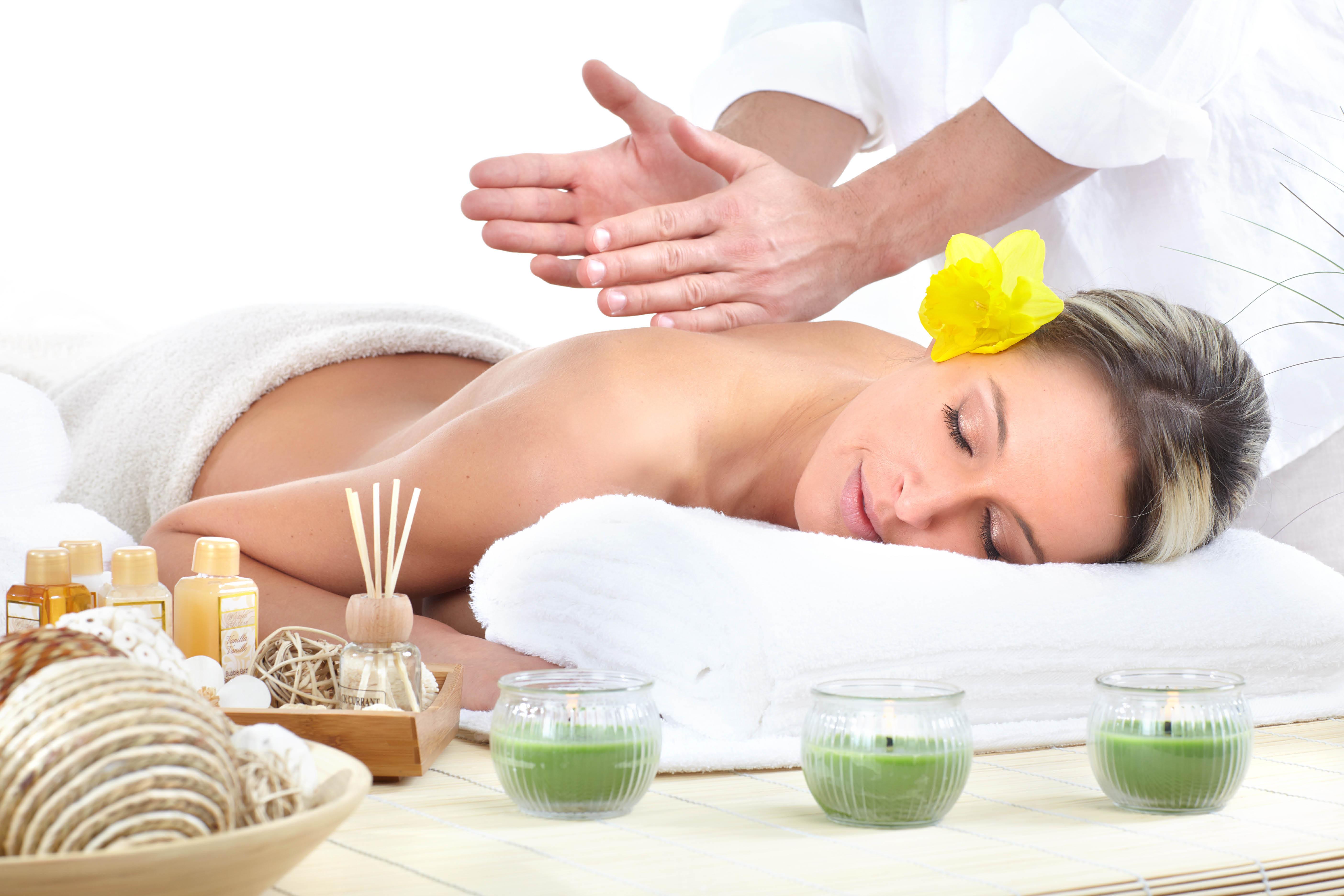 Aroma therapy has great synergy with shiatsu