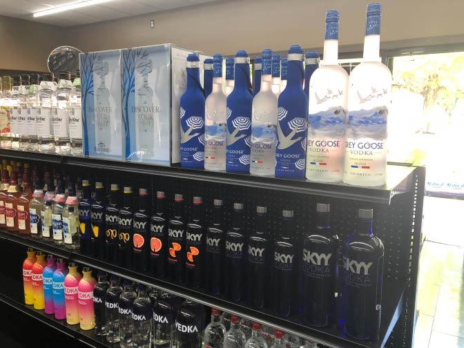 Mastin Discount Liquor Selection of Vodka