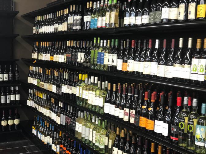 Mastin Discount Liquor Wine Selection
