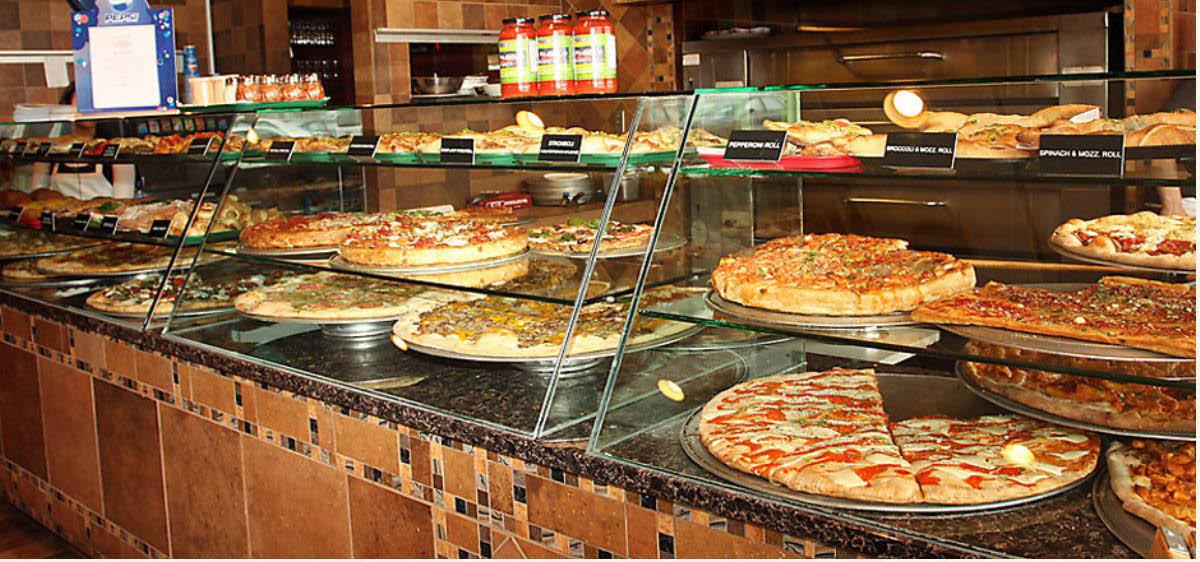 Pizzam pasta, italian