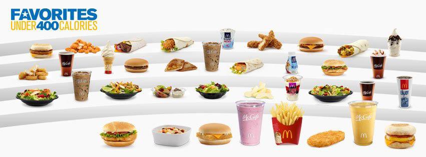 McDonald's under 400 calories items