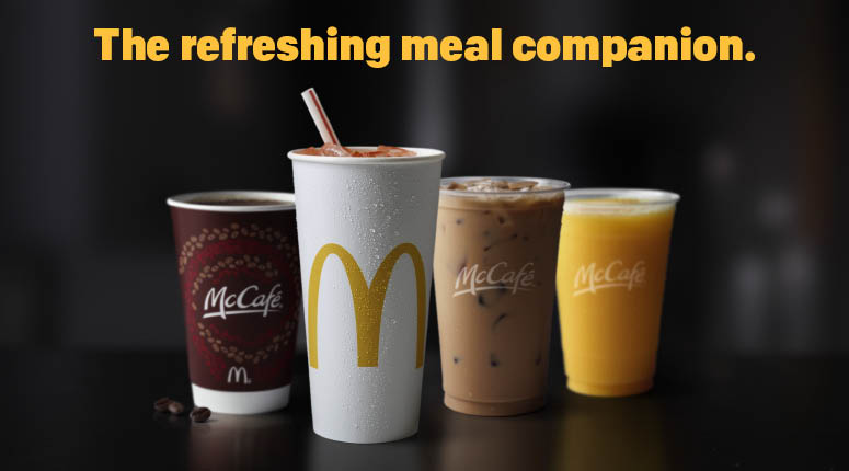 hot & cold drinks to have with your meal at mcdonald's in emmaus pennsylvania