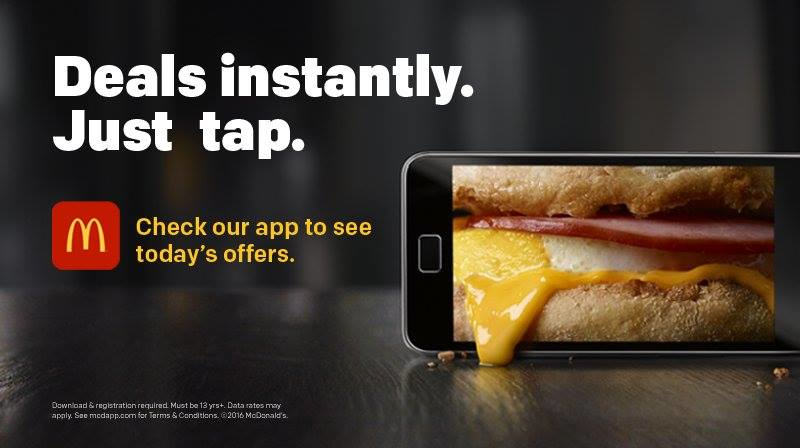 Check out McDonalds Restaurant mobile App where you can order & pay