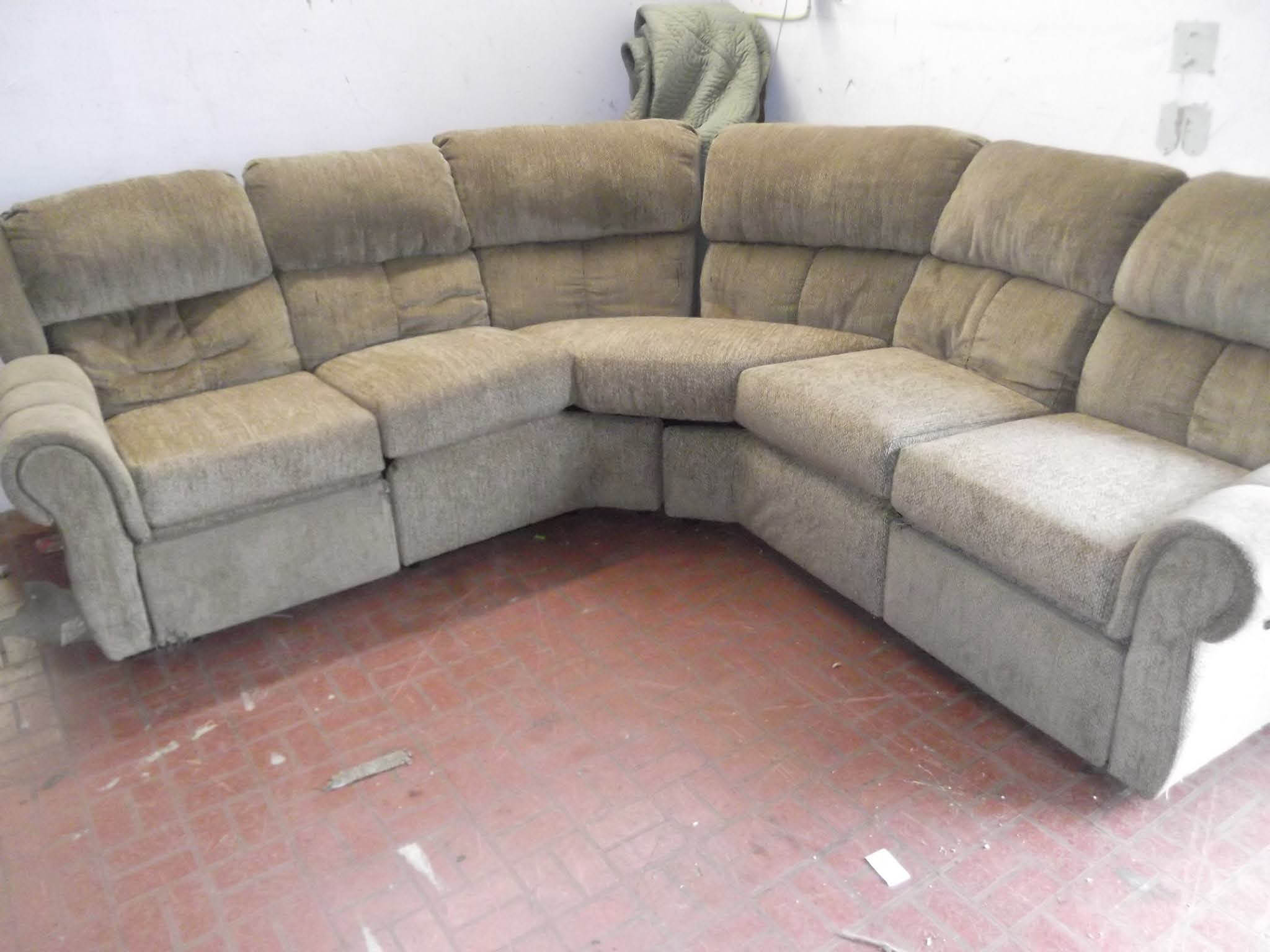 Discount Living Room Wrap Couch Near Ashville